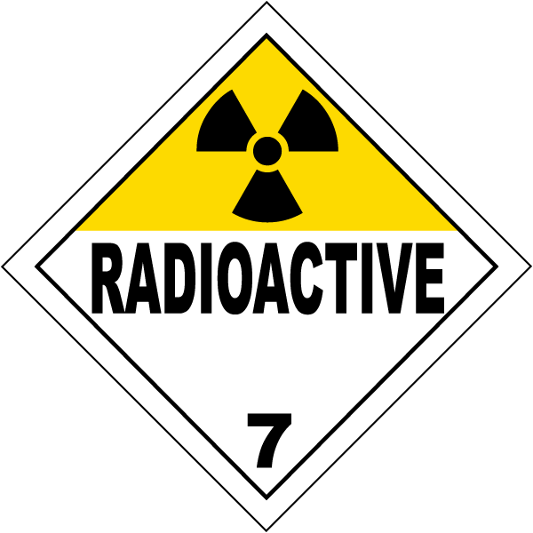 USDOT Symbol for Radioactive Substances