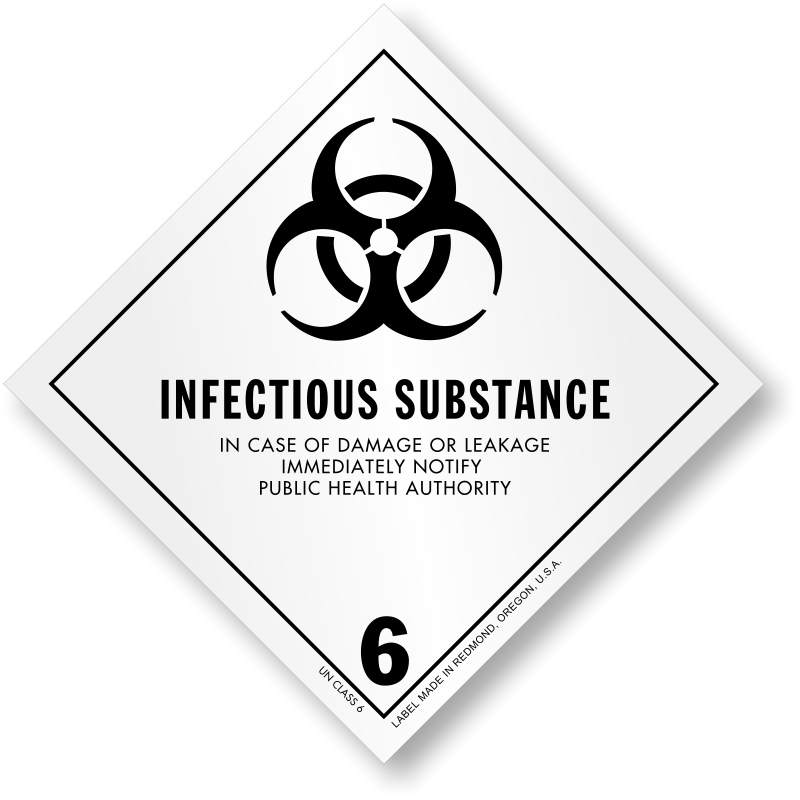 USDOT Symbol for Infectious Substances