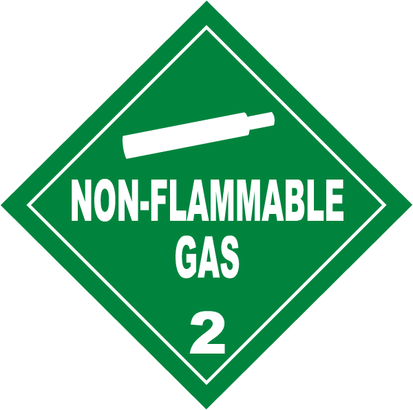 USDOT Symbol for Non Flammable Gas
