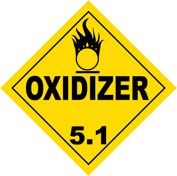 USDOT Symbol for Oxidizer