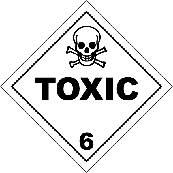 USDOT Symbol for Toxic Substances