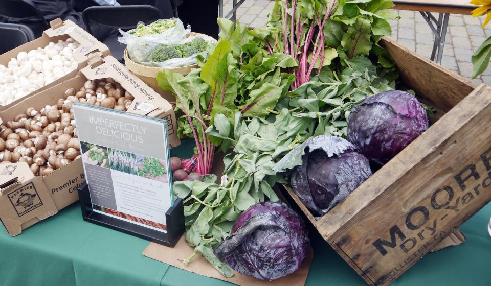 Locally grown produce and other vegetables