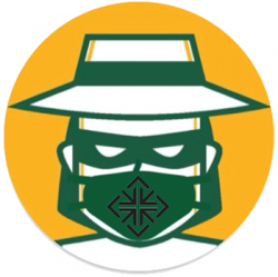 USF Don wearing a mask