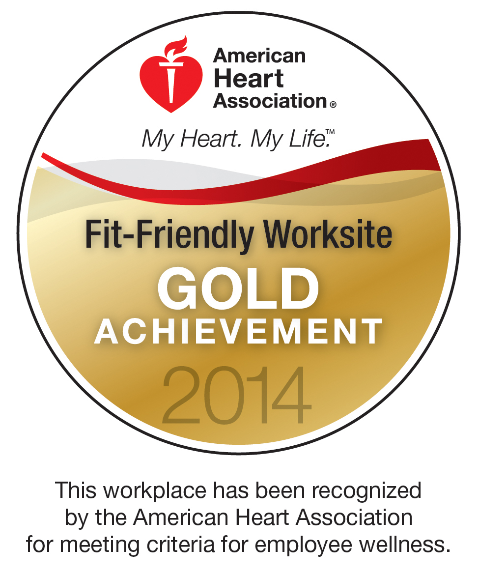 2014 American Heart Association Award Gold