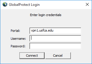 GlobalProtect Instructions for Windows | myUSF