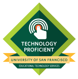 Technology Proficient Badge at USF