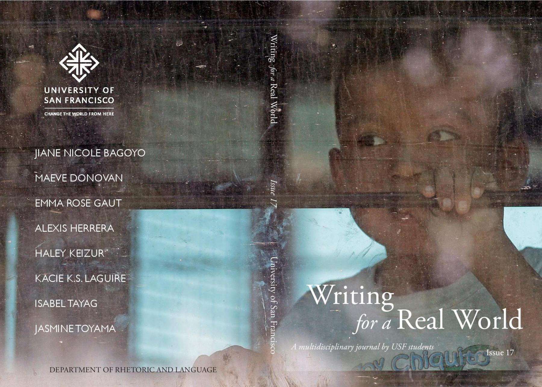 Writing for a Real World Cover
