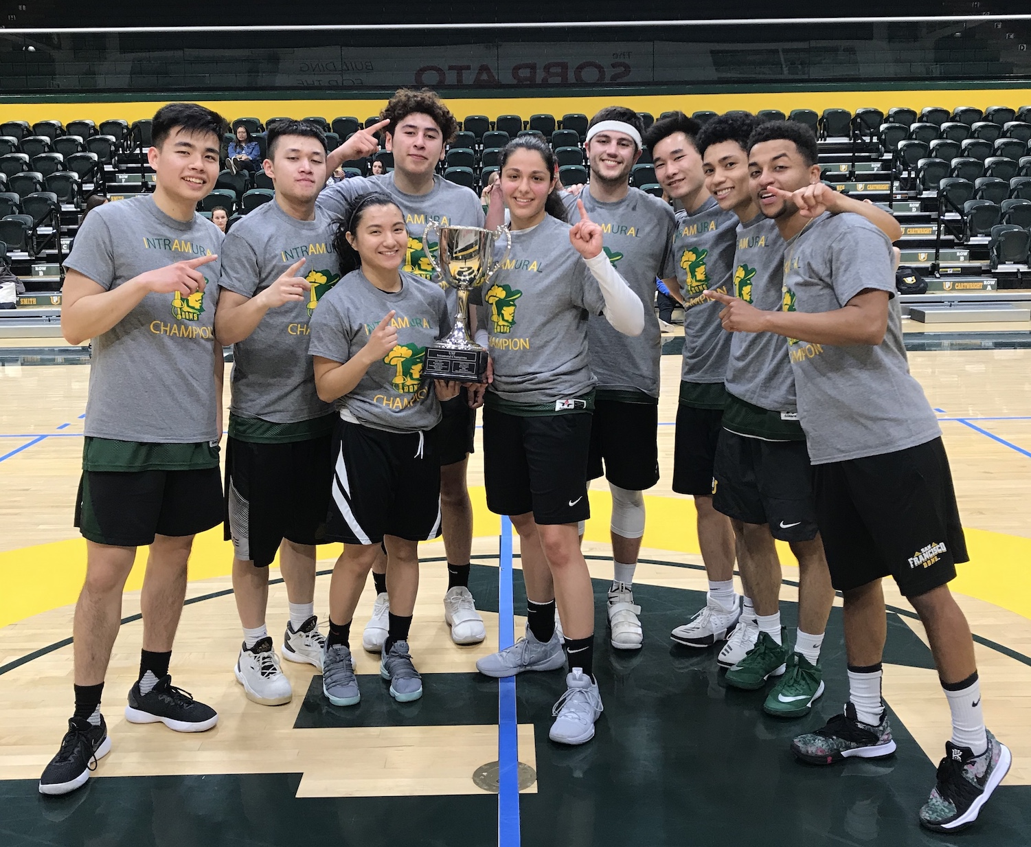2019 Spring IM champ CoRec Basketball Ice Bears