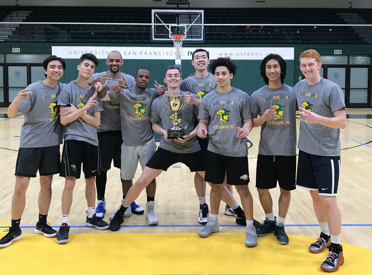 2019 Spring IM Champ Men's Basketball Bench Boyz