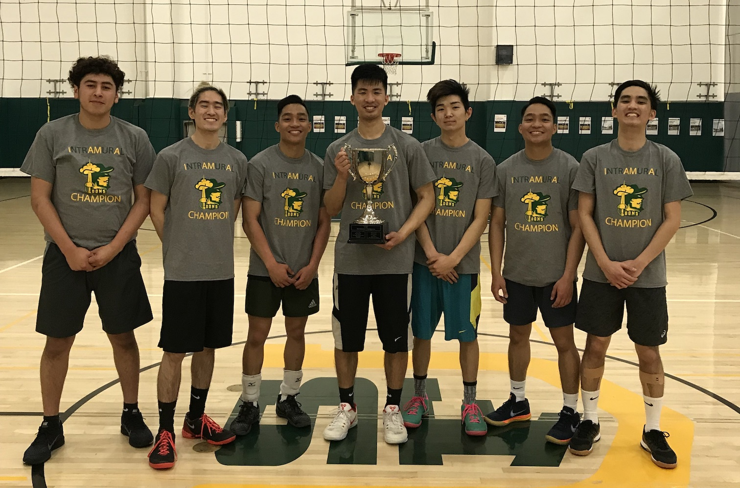 2019 Spring IM Champ Volleyball Champions Block Party