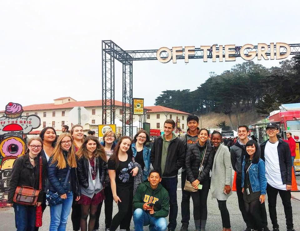 students at off the grid