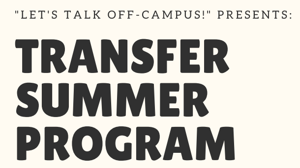Transfer Summer Program