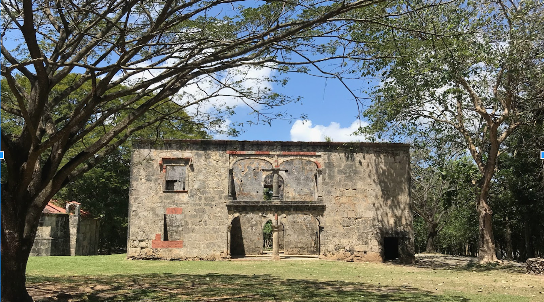 Building in the Dominican Republic that used to be Slaves Quarters.