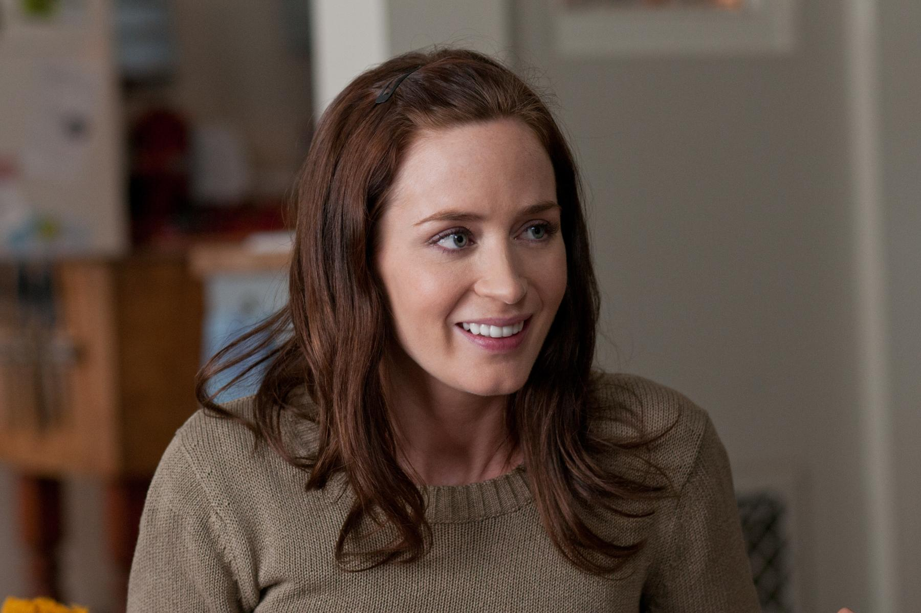 Emily Blunt in the five-year-engagement