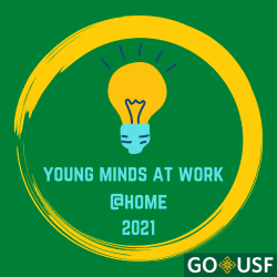 young minds at work at home logo