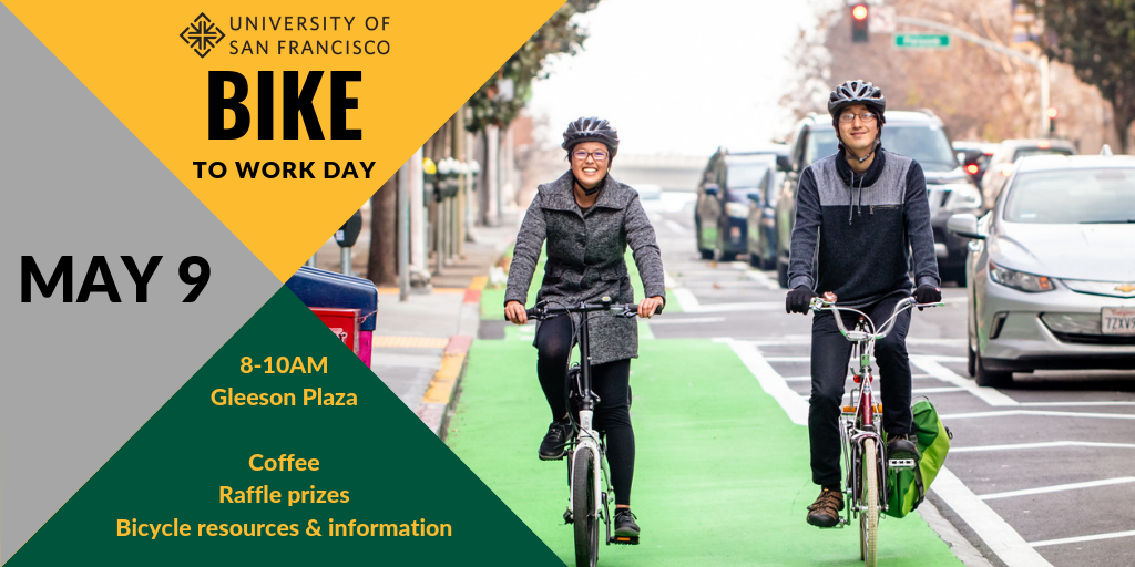 USF Bike to Work Day May 9