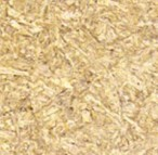 Straw particle board