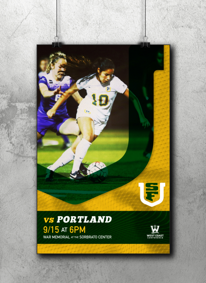 USF Soccer Game Day poster