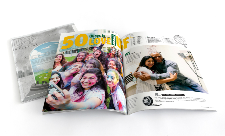 USF Magazine Global Warming Cover