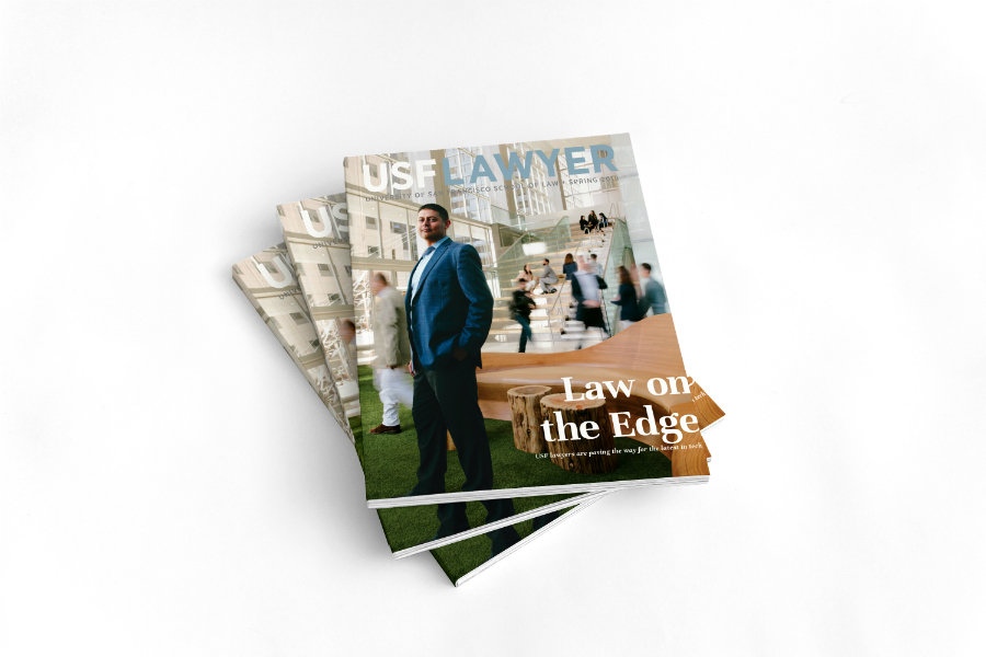 USF Lawyer magazine